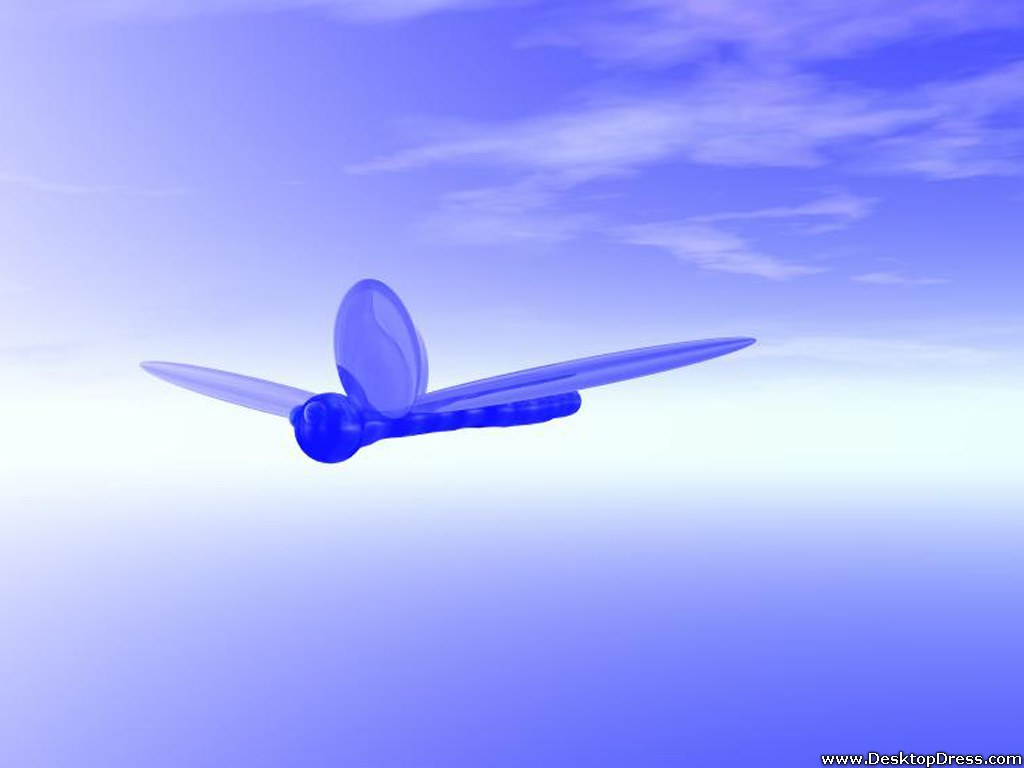Desktop Wallpapers 3D Backgrounds Flight wwwdesktopdresscom 1024x768