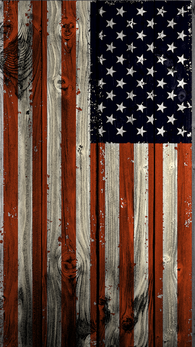 Vertical American Flag iPhone HD Wallpapers iPhone 4 4s 5 5s 640x1136