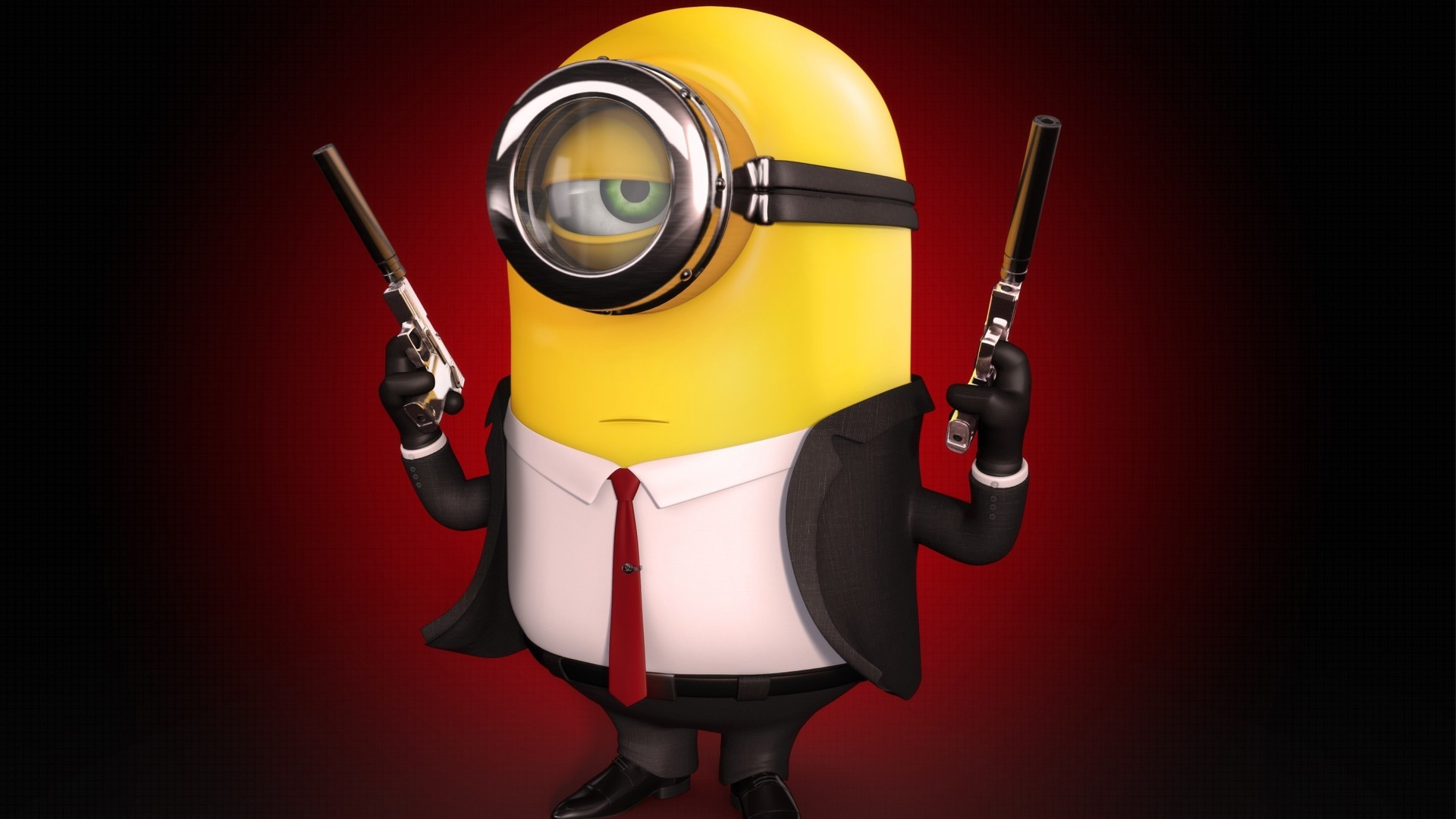 Minion The Hitman HD Wallpaper   Stylish HD Wallpapers 1920x1080