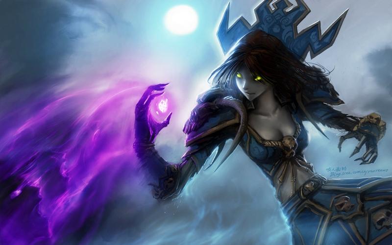 video games world of warcraft undead fantasy art magic artwork warlock 800x500