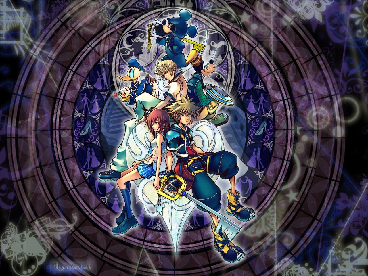 Fondos de Pantalla Wallpapers Fondo wallpaper kingdom hearts hd 1280x960