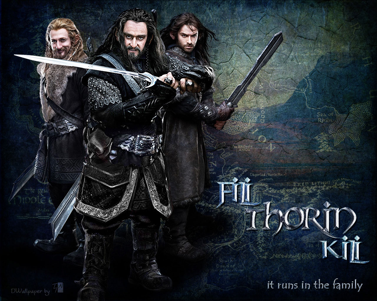 Thorin Oakenshield Wallpapers 1280x1024