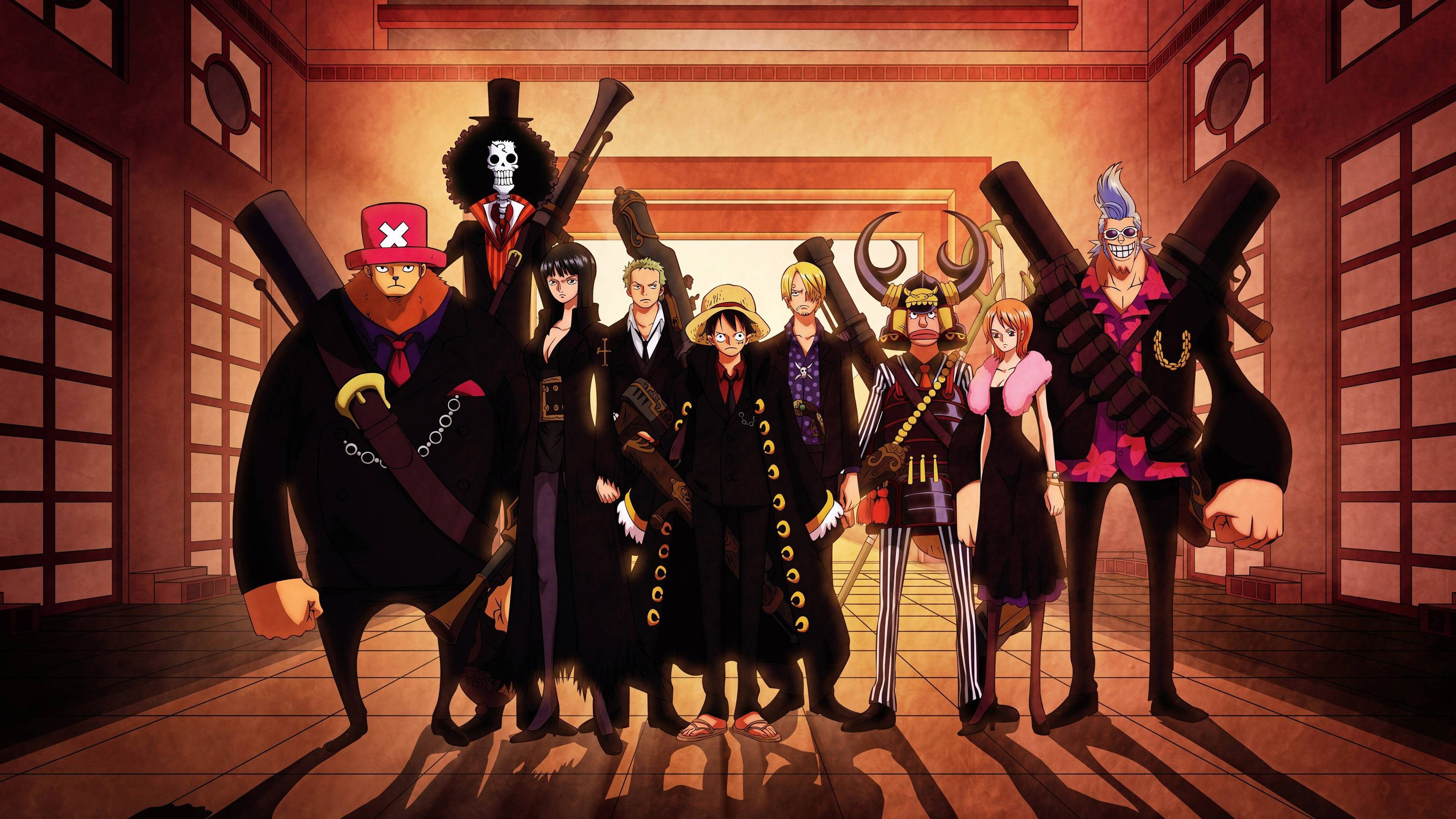 One Piece Anime Wallpapers HD Wallpapers 3840x2160