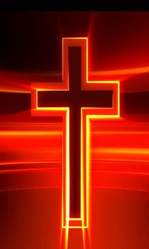 christian red shimmering cross live wallpaper Perfect wallpaper 307x512