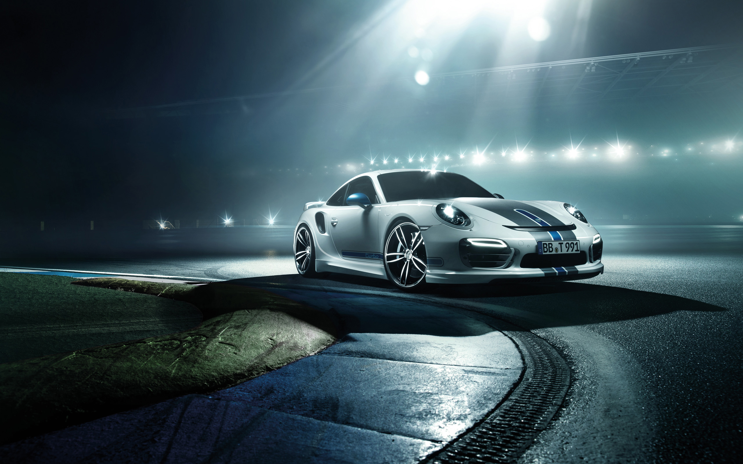 2014 Porsche 911 Turbo By TechArt Wallpapers HD Wallpapers 2560x1600