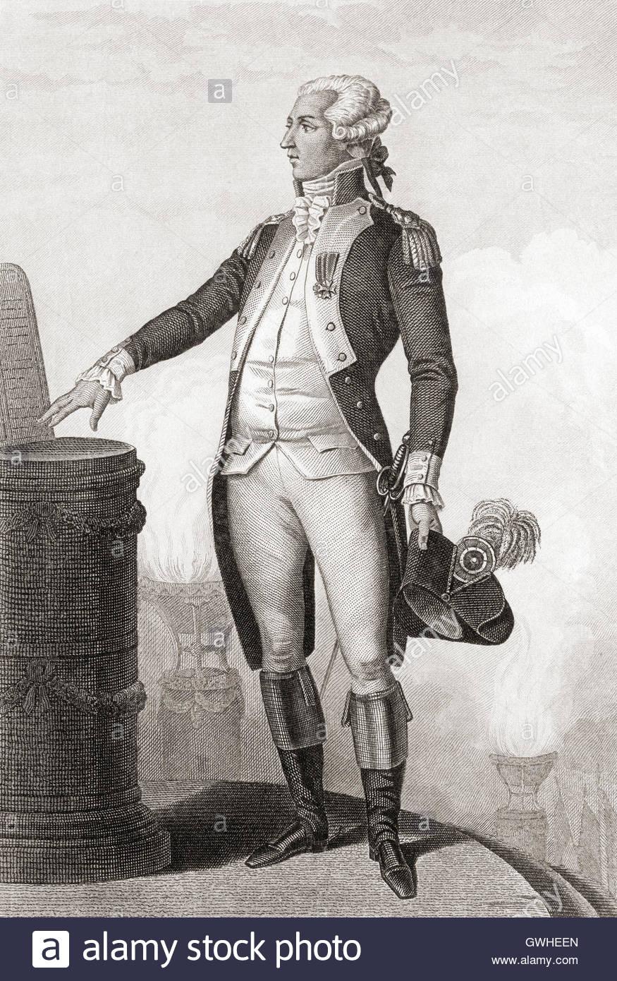 Marie Joseph Paul Yves Roch Gilbert du Motier Marquis de 875x1390