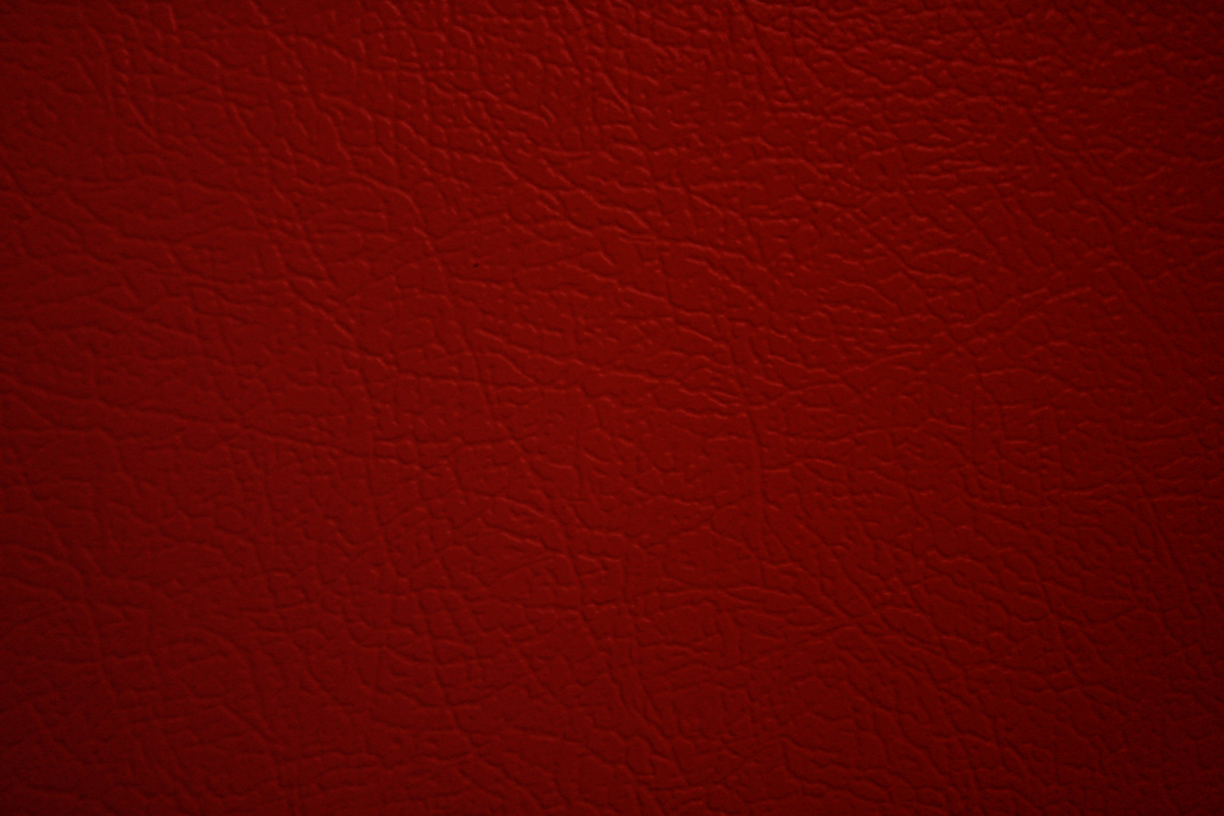 Red Faux Leather Texture Picture Photograph Photos Public 3888x2592