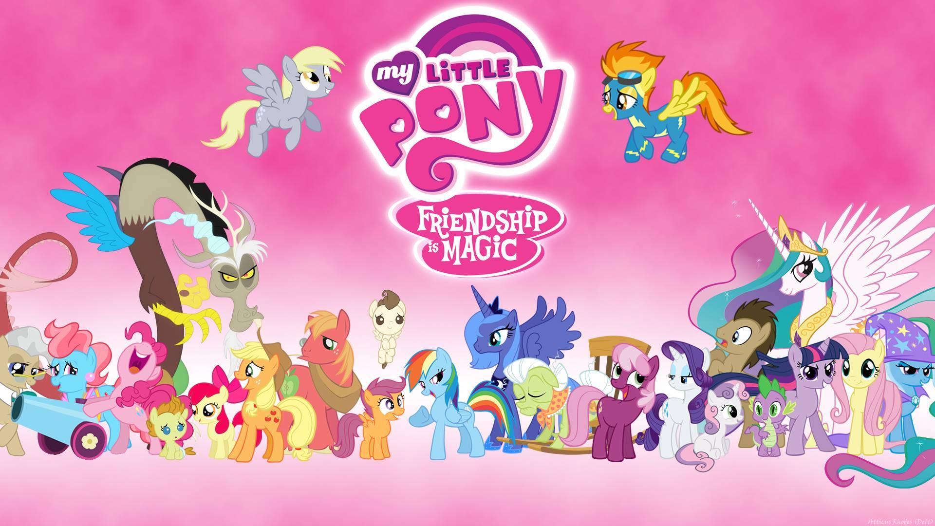 MLPFIM Wallpaper   My Little Pony Friendship is Magic Wallpaper 1920x1080