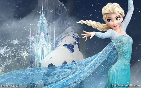wallpaper frozen 2013 frozen elsa by meddek elsa frozen by elsa 563x352