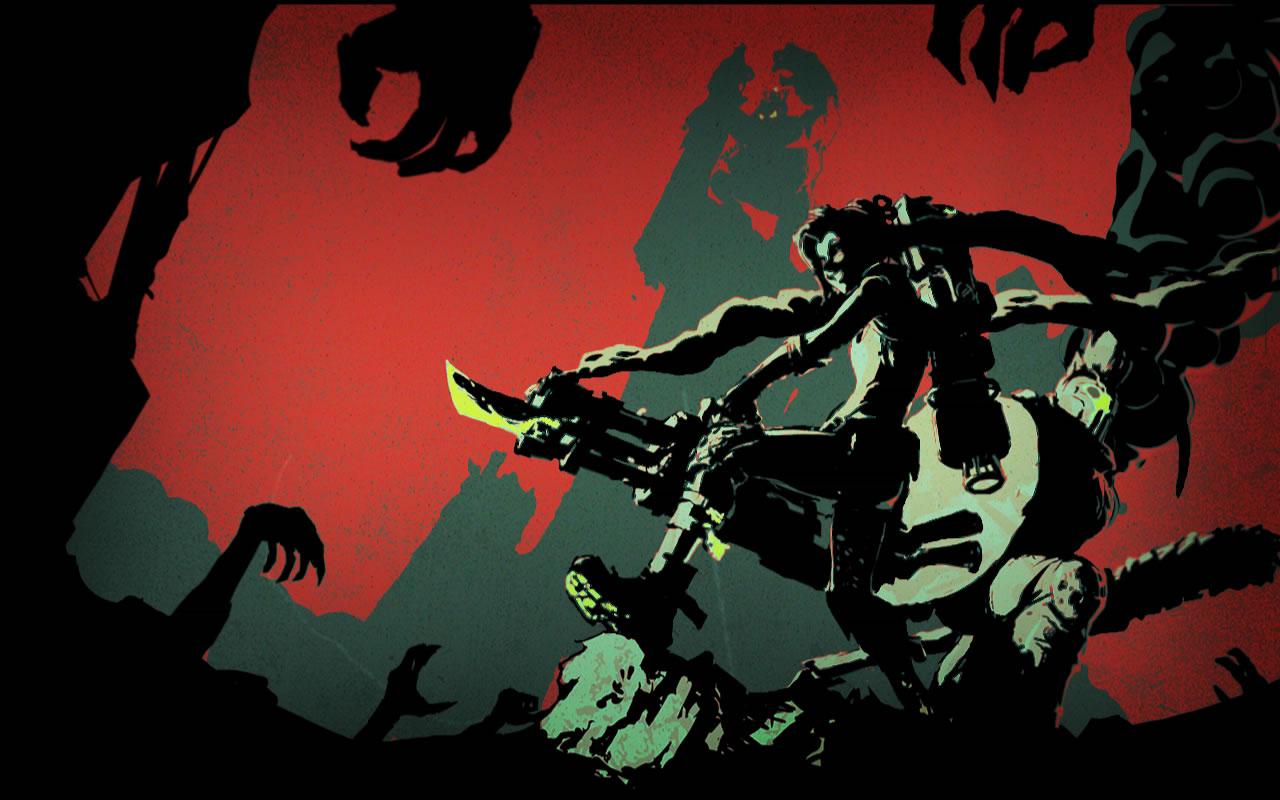 Slayer Jinx Login   League of Legends Wallpapers 1280x800