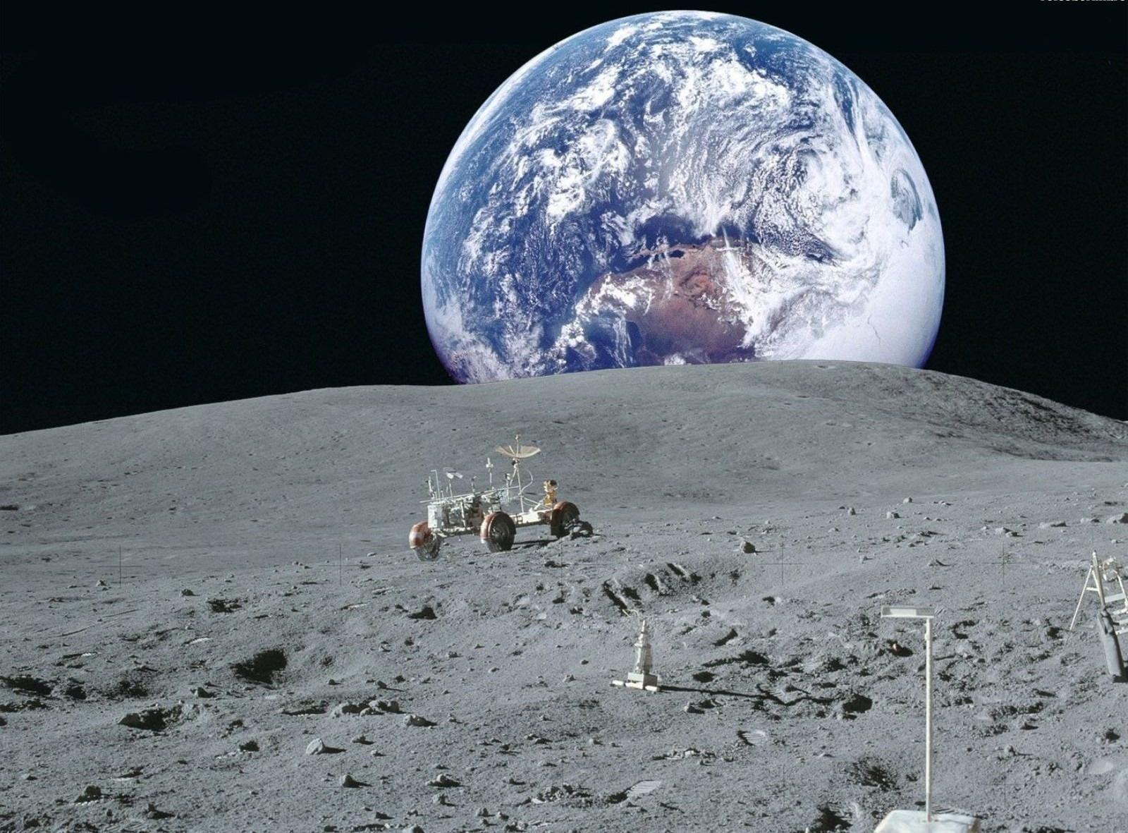 Wallpaper Space Moon Earth planet NASA desktop wallpaper Other 1600x1181