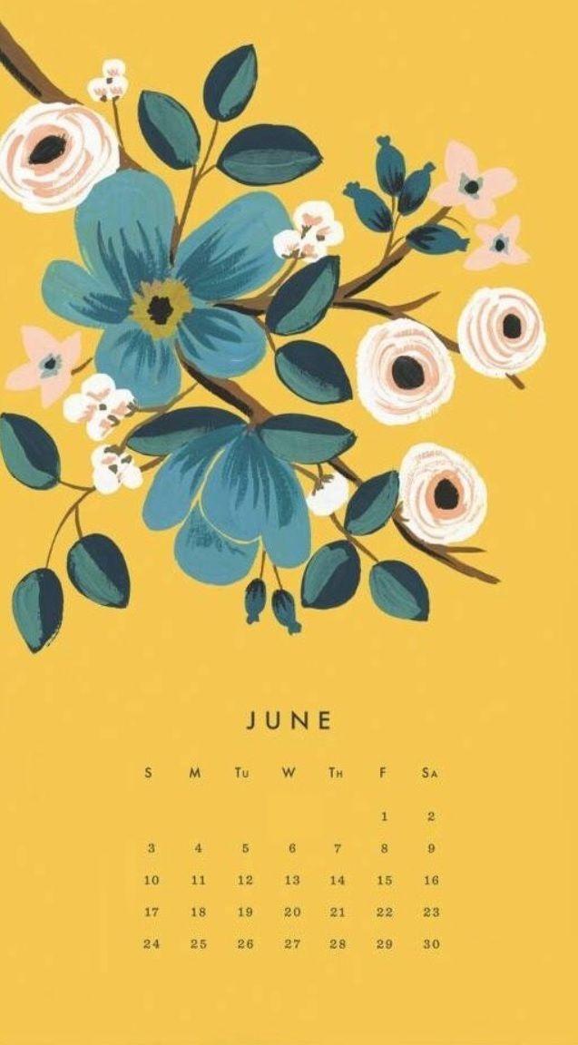 June 2018 iPhone Calendar Wallpapers Calendar 2018 Calendar 637x1152