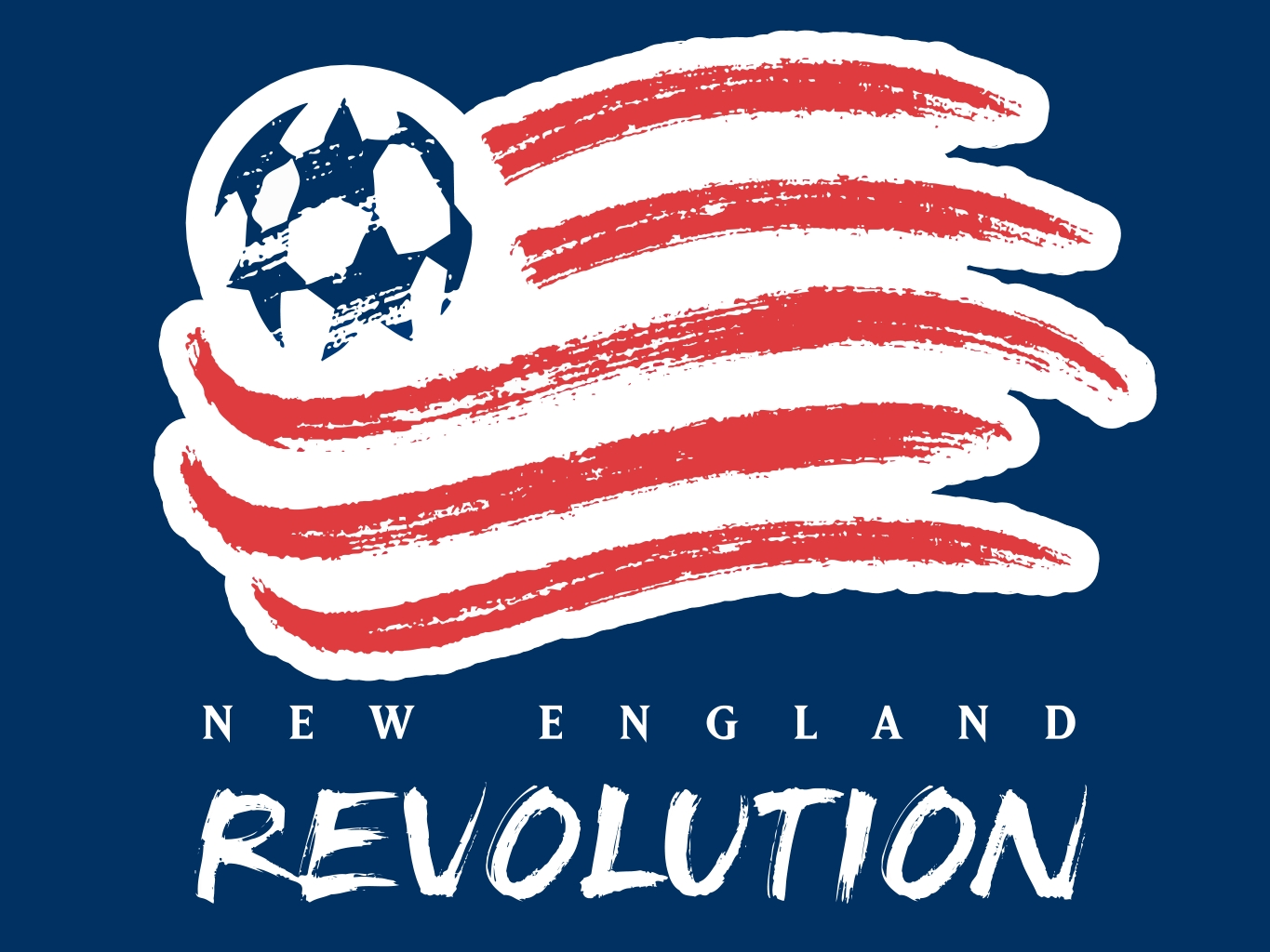 New England Revolution Football Wallpaper 1365x1024