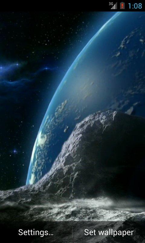 Planeta Terra ao vivo LWP   Aplicativos e Anlises Android 480x800