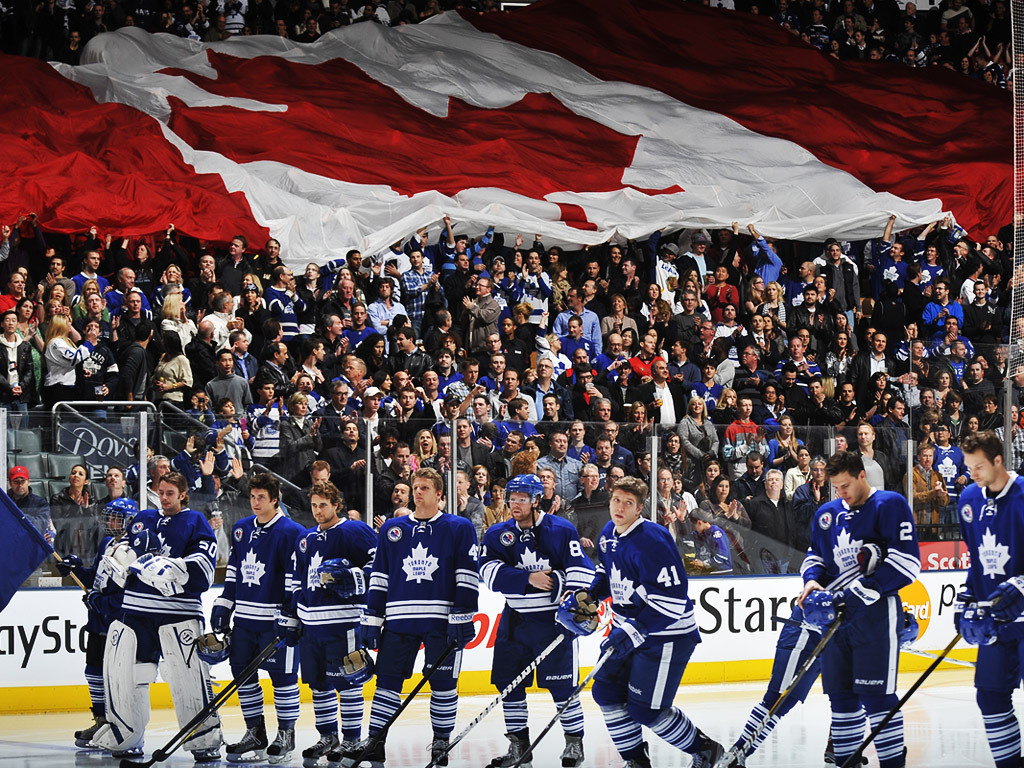 Maple Leafs Game Night Entertainment Wallpaper   Toronto Maple Leafs 1024x768