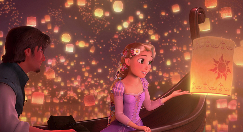 Screenshot of Rapunzel and Flynn Rider I See the Light Tangledjpg 800x437