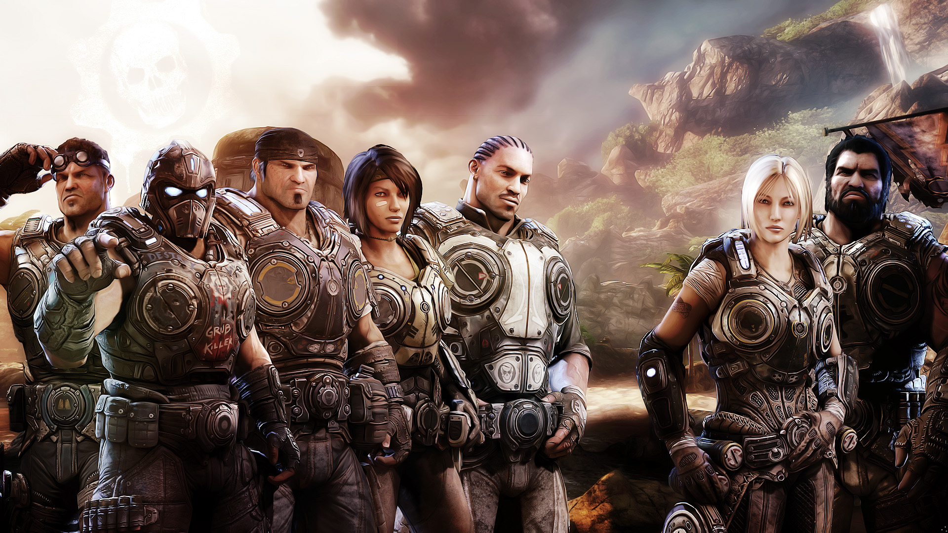 Free Download Gears Of War 3 Xbox Game Wallpapers Hd Wallpapers