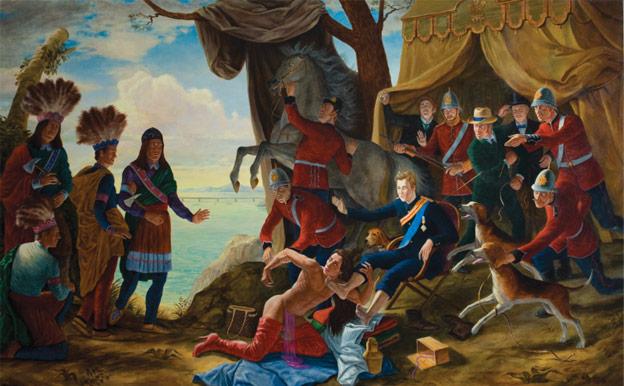 How Kent Monkmana half Cree illustrator from Winnipegsexed up 624x386
