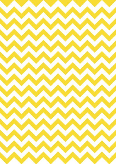 yellow Art Print by Meli lebain Yellow Chevron Chevron Wallpaper 400x566