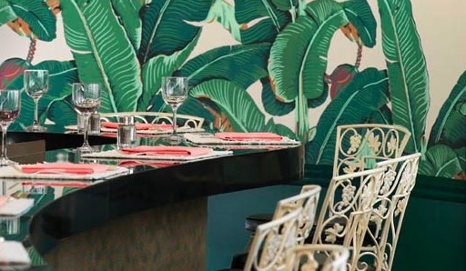 Beverly Hills Hotel   Martinique wallpaper from Hinson Company 512x298