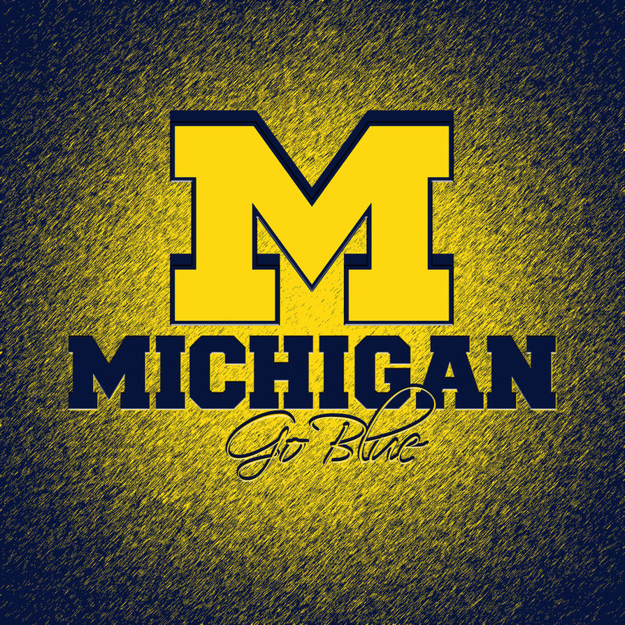 Michigan Wolverines HD iPad Wallpaper by hp31308 894x894