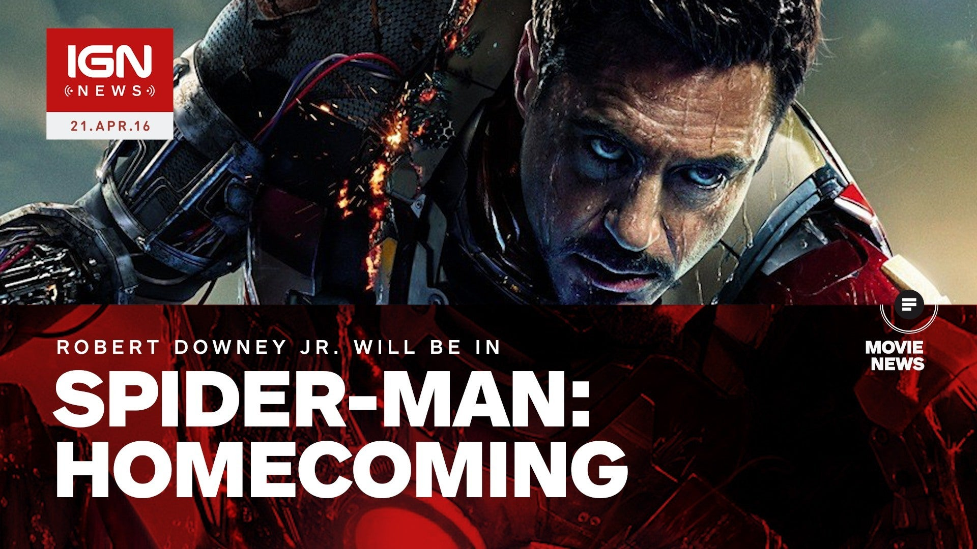 Robert Downey Jr Will Appear in Spider Man Homecoming   IGN 1920x1080