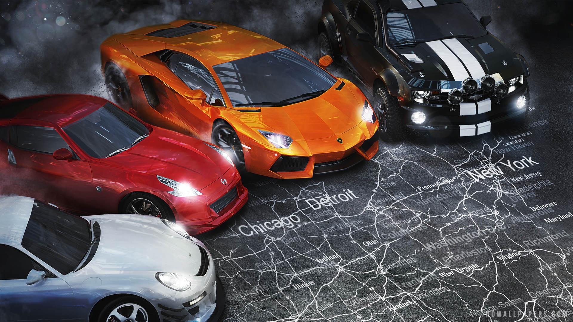 The Crew Game HD Wallpaper   iHD Wallpapers 1920x1080