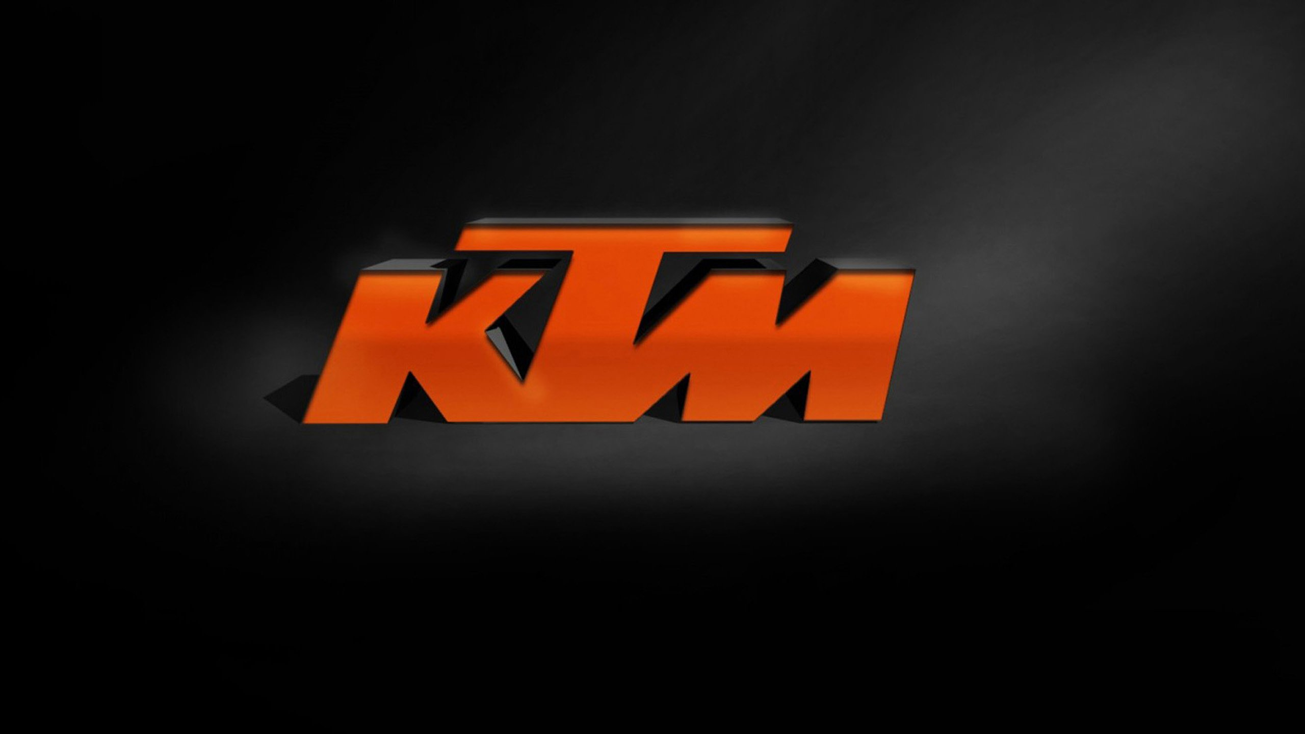 KTM logo wallpaper 03 HD Desktop Wallpapers 2560x1440