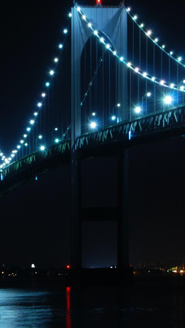 Bridge Rhode Island iPhone 5s Wallpaper Download iPhone Wallpapers 640x1132