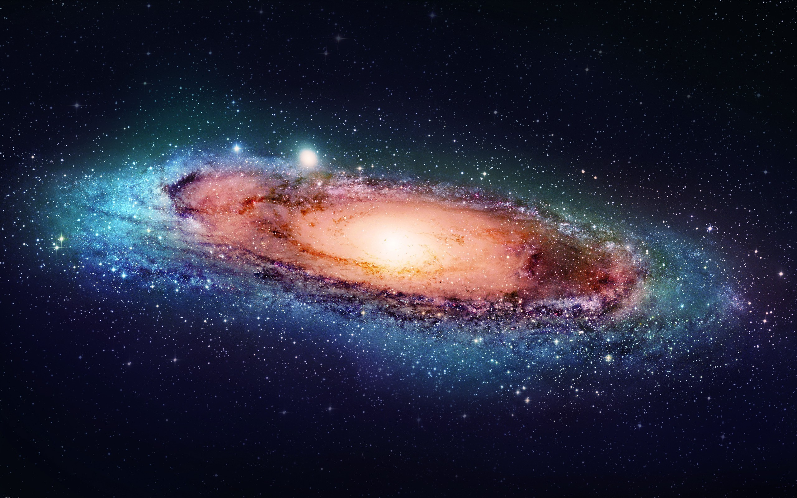 Andromeda galaxy wallpaper 15763 2560x1600