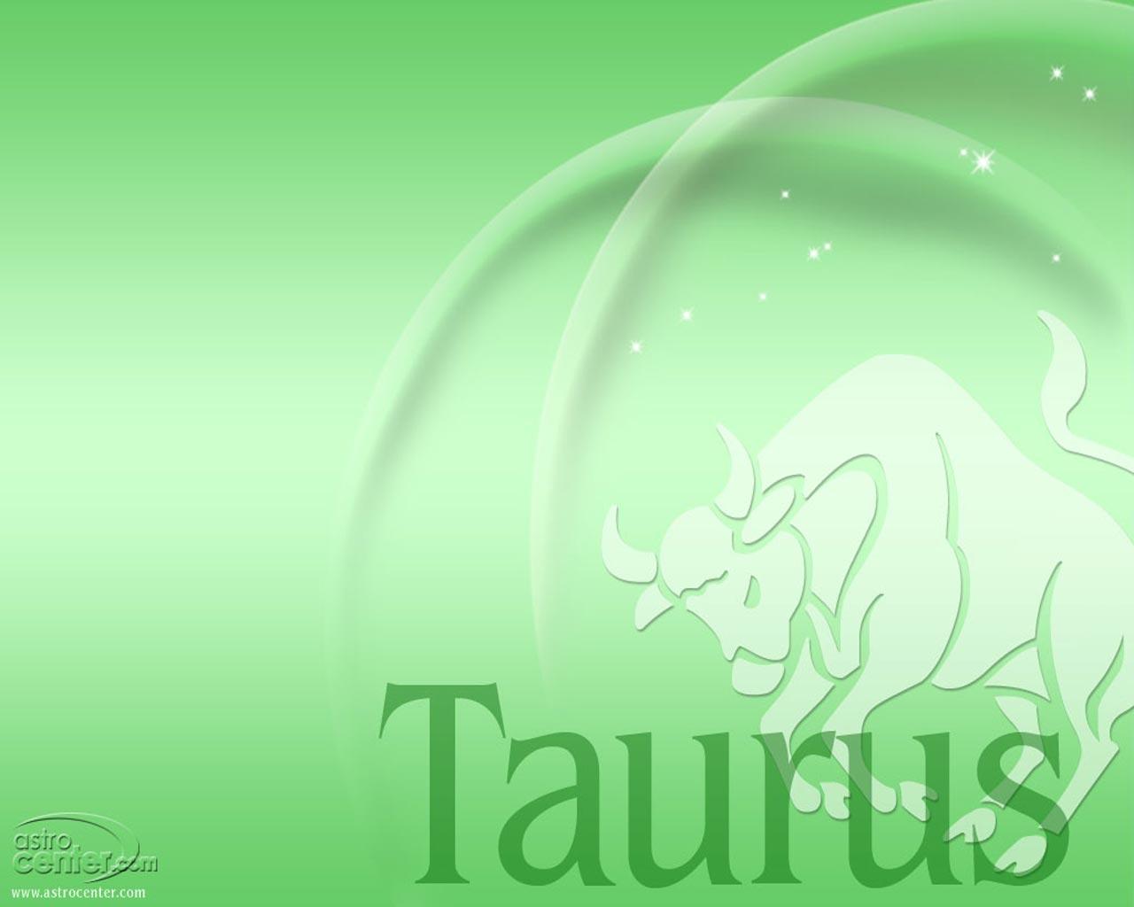 Green Taurus Wallpaper Zodiac Signs 1280x1024