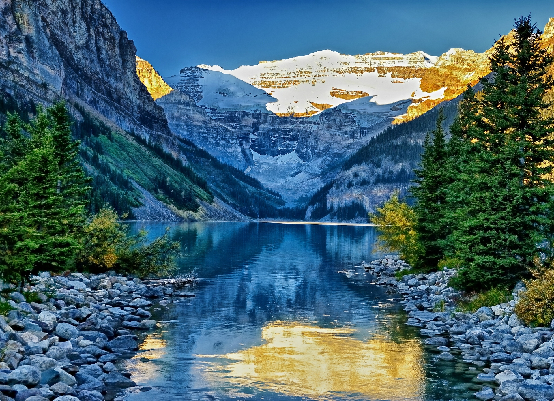 Wallpaper lake louise banff national park alberta canada alberta 1920x1390