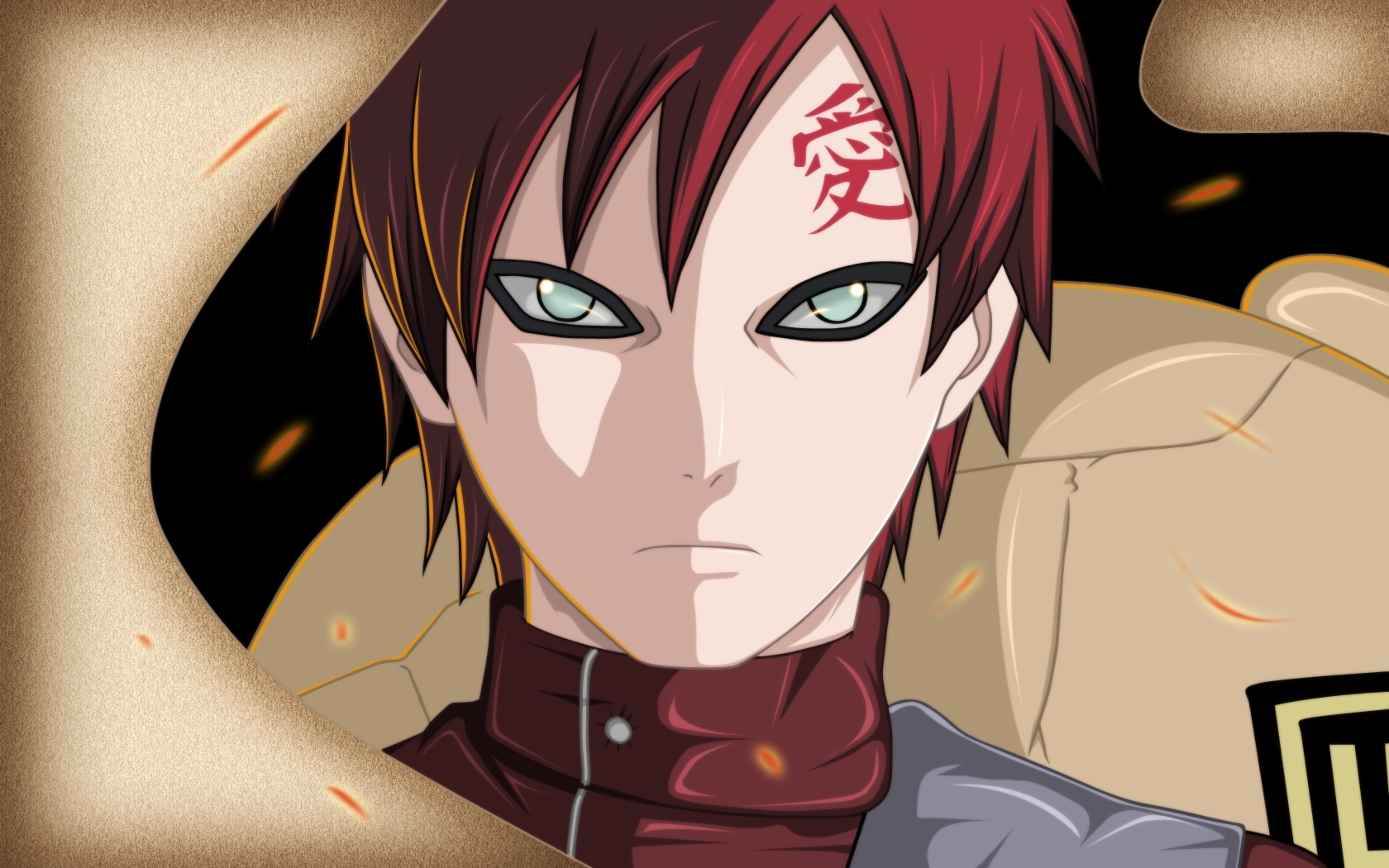 Sabaku No Gaara Wallpapers   1680x1050   821174 1680x1050