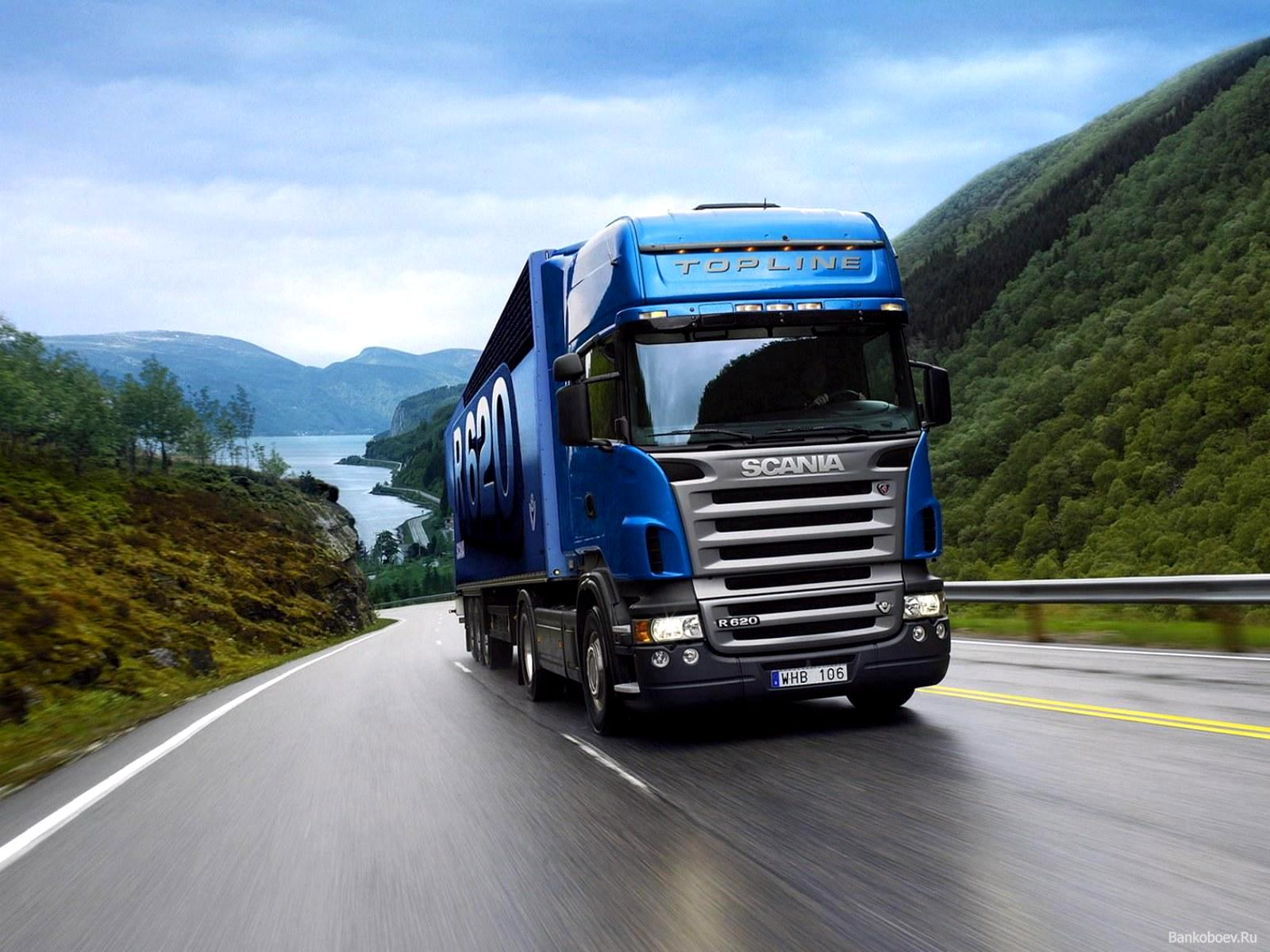 Blue Truck Scania Wallpaper Wallpaper WallpaperLepi 1600x1200