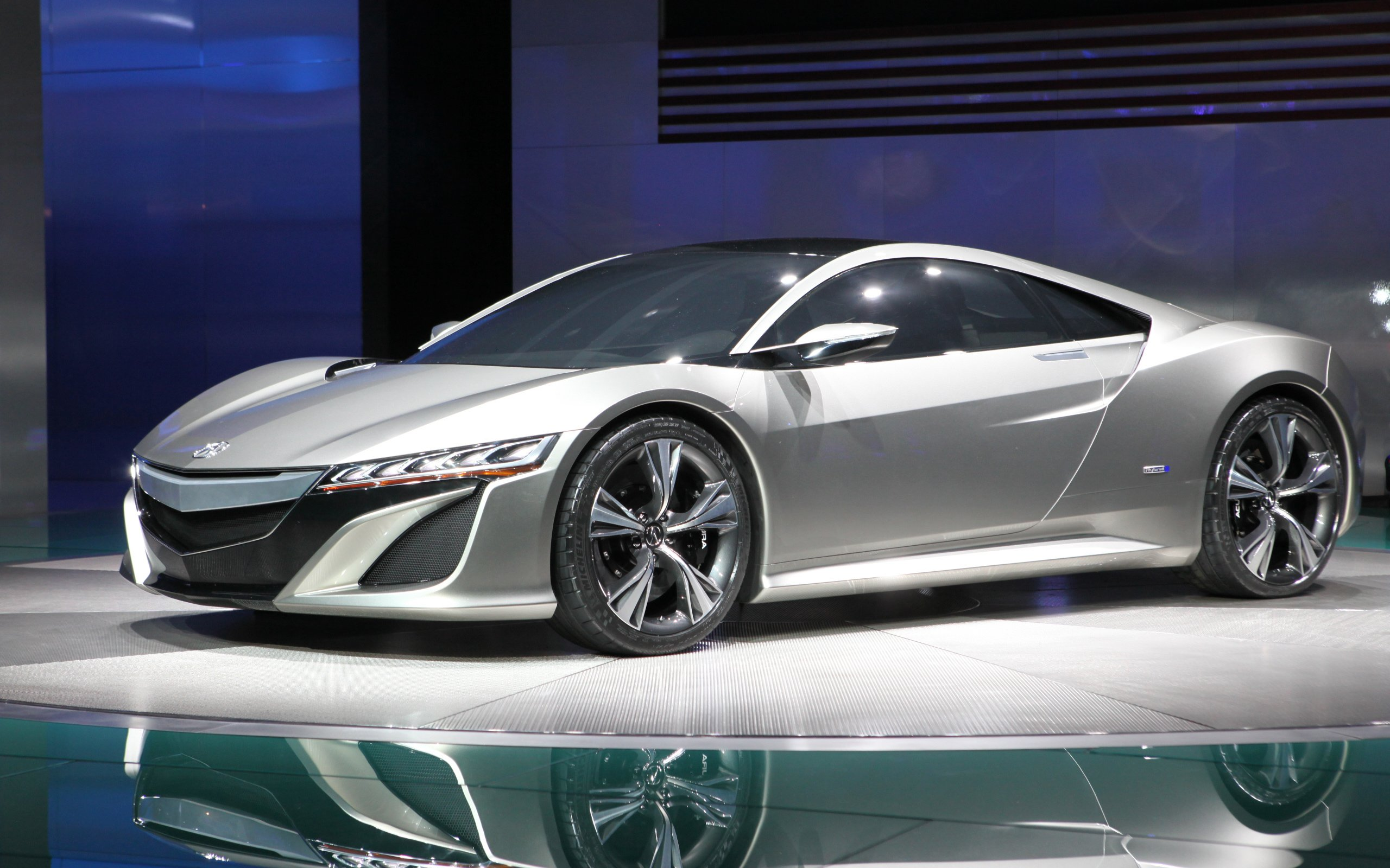 New Acura NSX Concept MGM Wallpaper HD Car Wallpapers 2560x1600