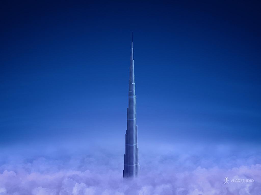 burj khalifa wallpaper hd 1024x768
