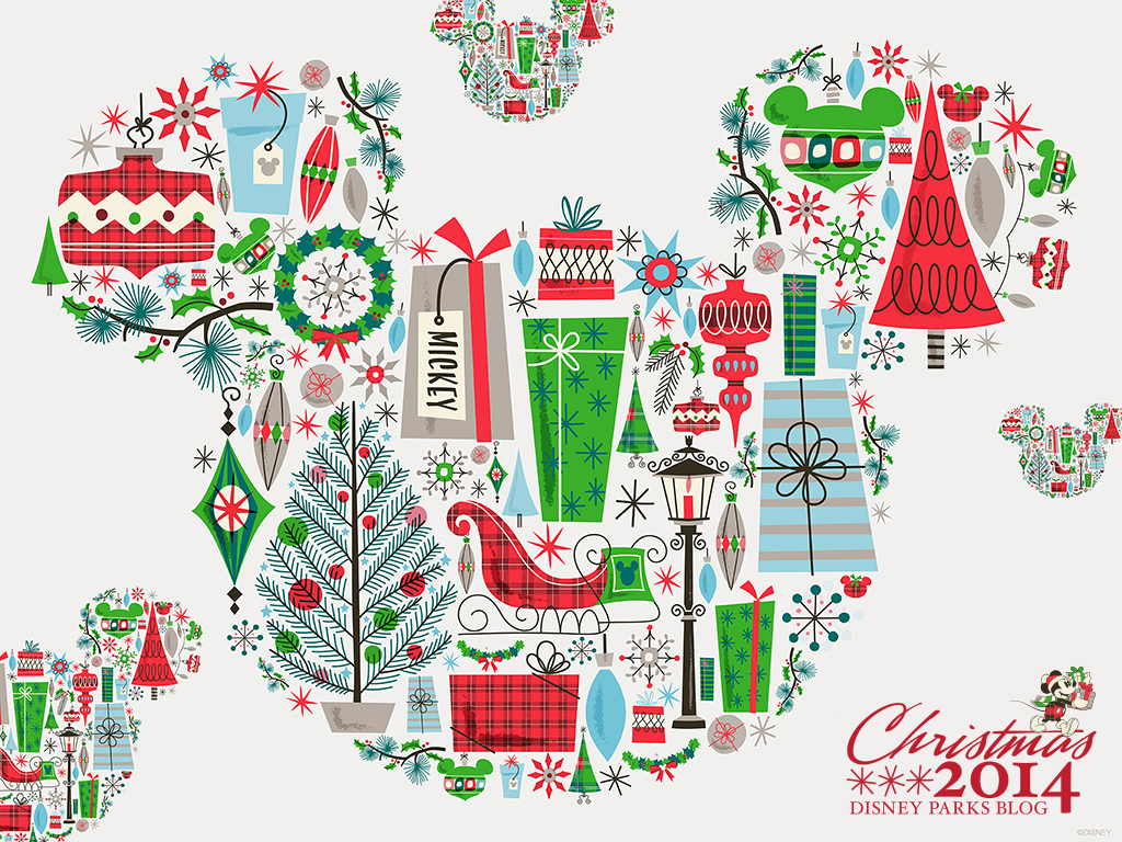 Season With This Holiday DesktopMobile Wallpaper Disney Parks Blog 1024x768