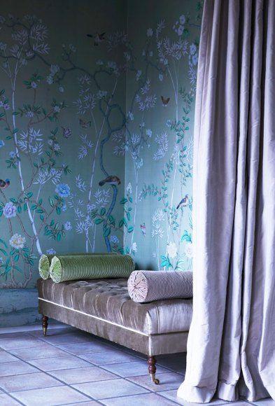 De Gournay wallpaper I n t e r i o r D e s i g n Pinterest 393x580