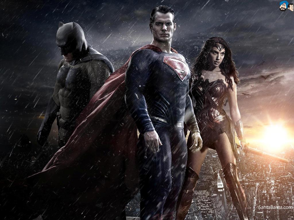 Batman vs Superman Dawn of Justice Movie Wallpaper 3 1024x768