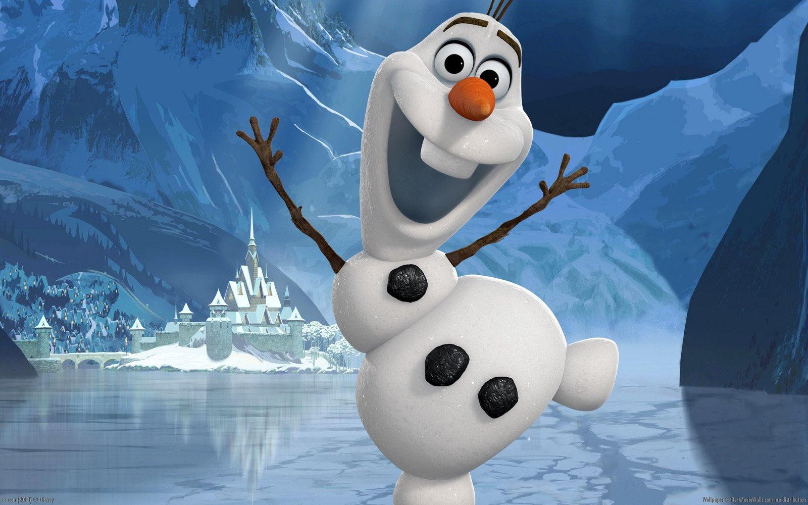 Meet Olaf the Adorable Snowman in Frozen 1600x1000