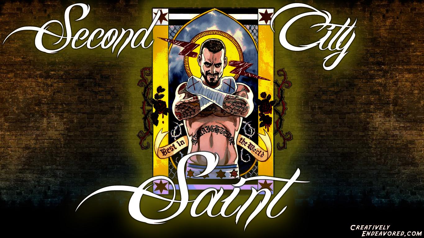 CM Punk   Second City Saint 1366x768