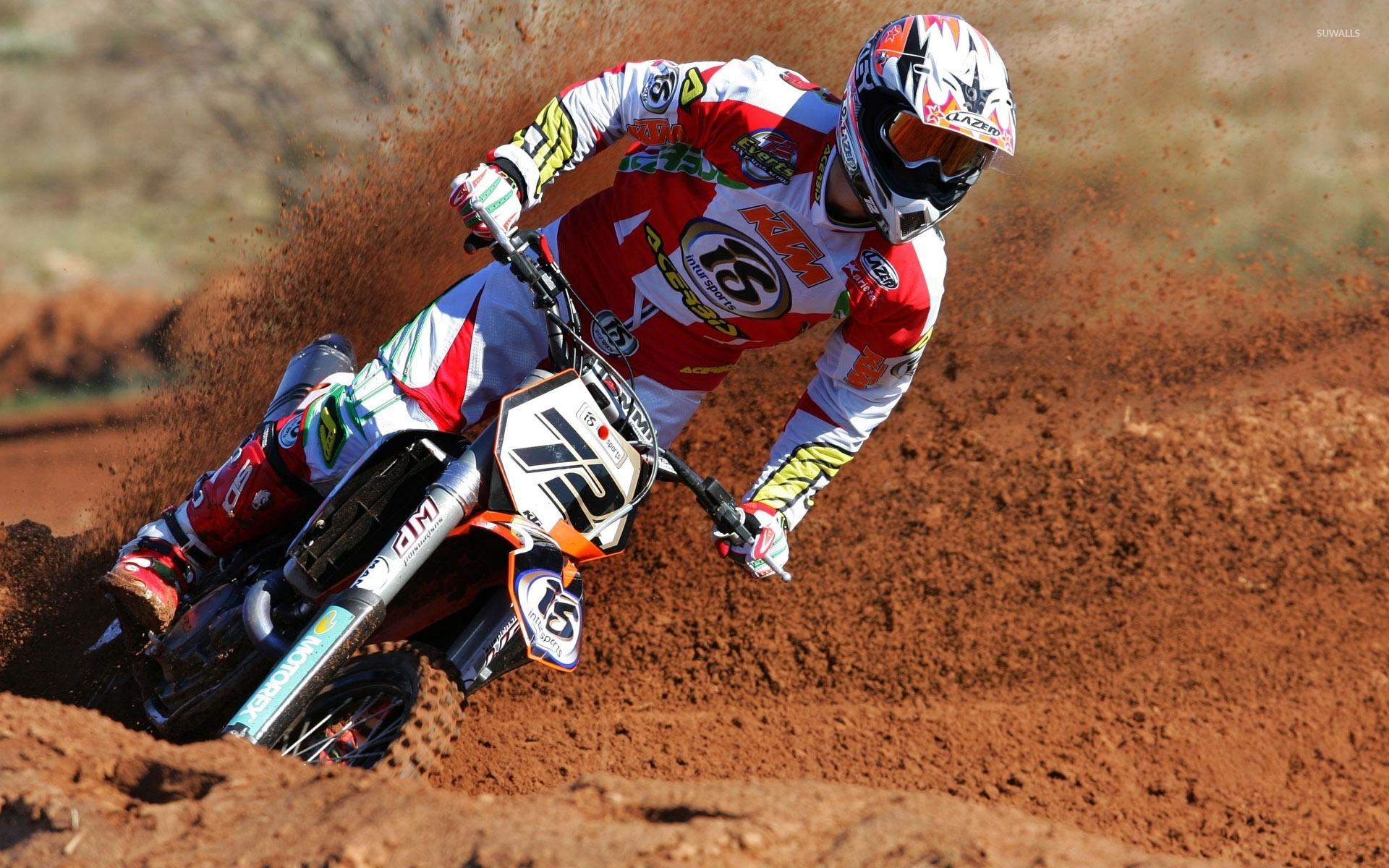 KTM motocross wallpaper   Motorcycle wallpapers   24126 1366x768