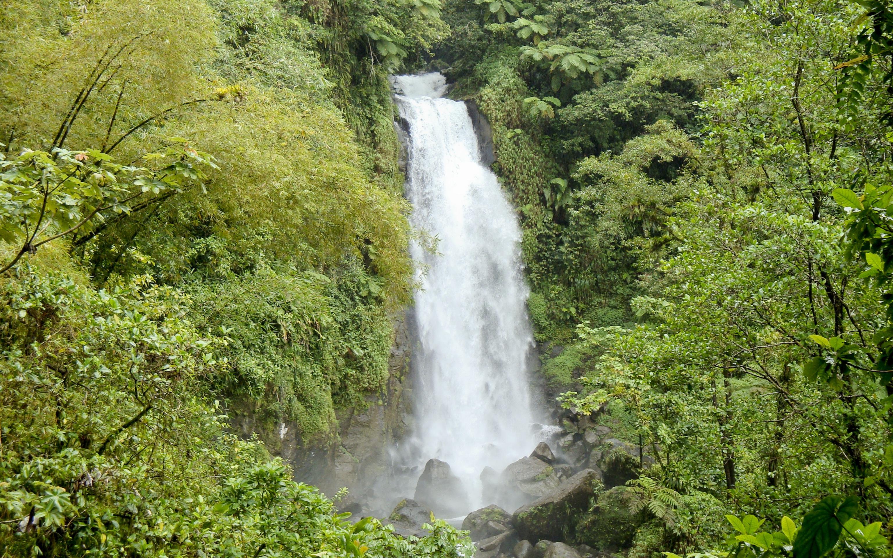 Grenada Waterfall Computer Wallpapers Desktop Backgrounds 3072x1920 3072x1920