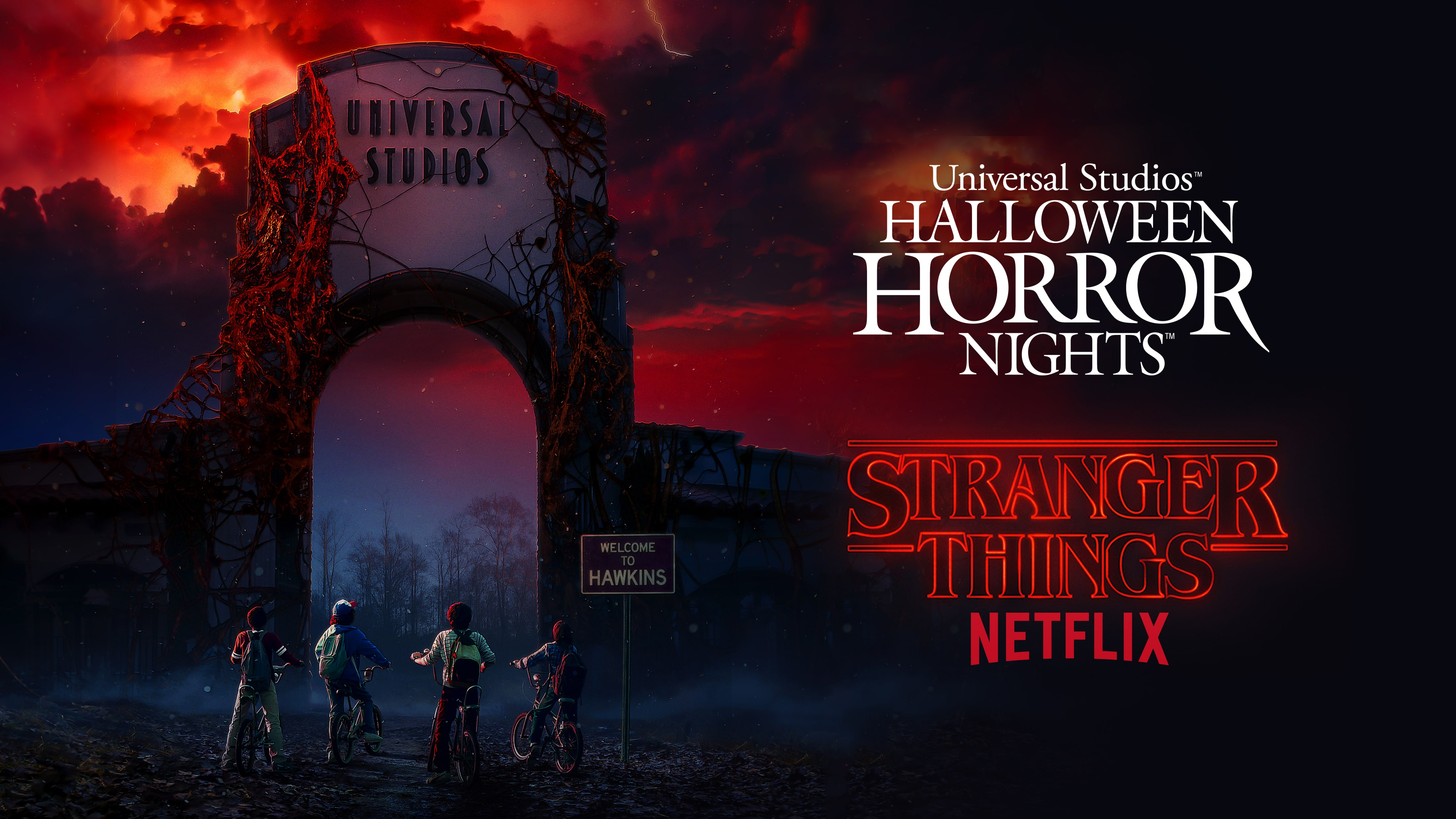 Universal Orlando Close Up Download Stranger Things Themed 4398x2474