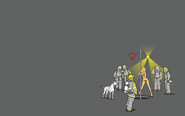 firefighter funny firefighter striptease Humor Wallpapers 600x375