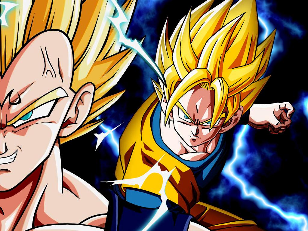 Wallpaper Goku vs Majin Vegeta by Dony910 1024x768