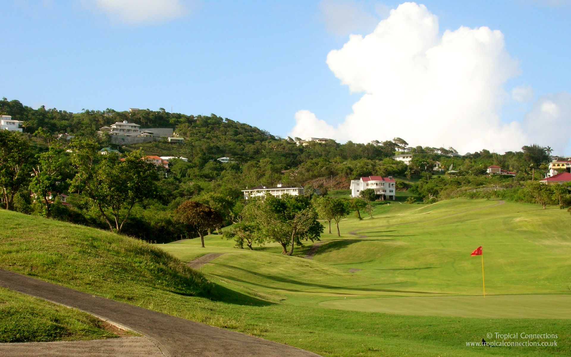 St Lucia Golf Course   1920x1200 1920x1200