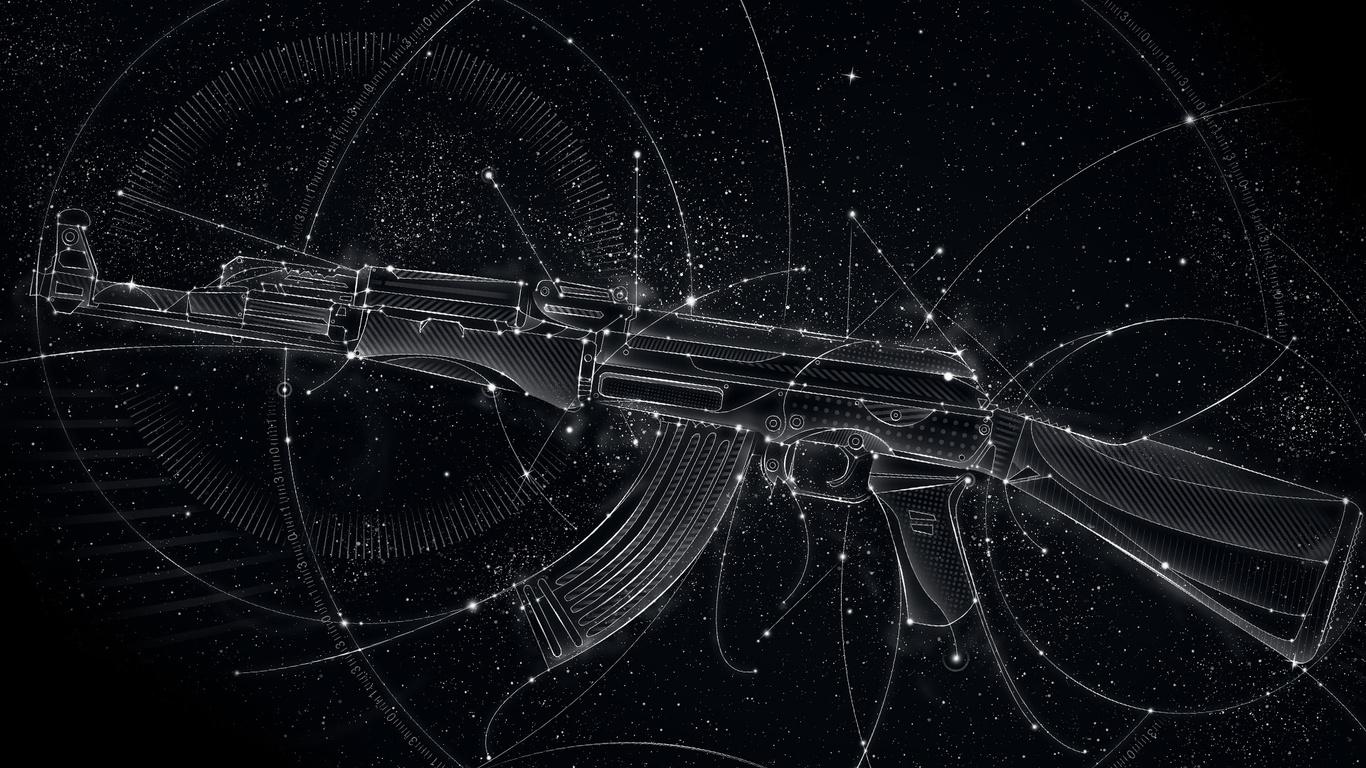 AK 47 Kalashnikov arma de fuego arma de gran Imgenes HD y de 1366x768