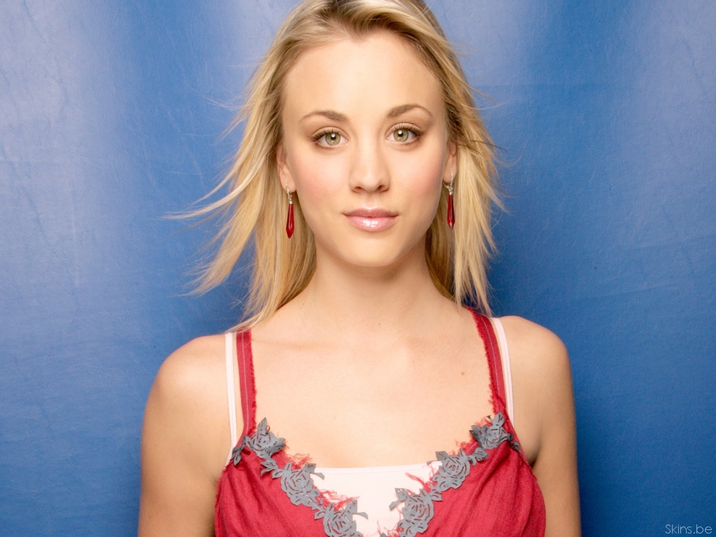 Kaley Cuoco desktop wallpaper download in widescreen hd 31866 1024x768