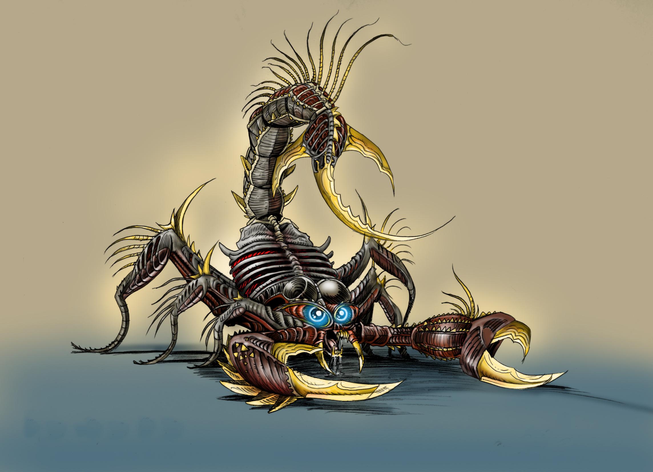 Scorpion Wallpapers 2288x1655